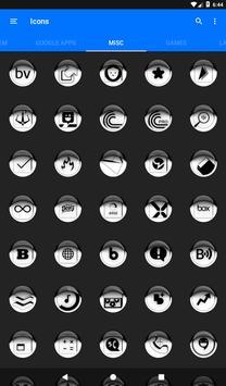 White Icon Pack Style 1 v2.0 screenshot 20