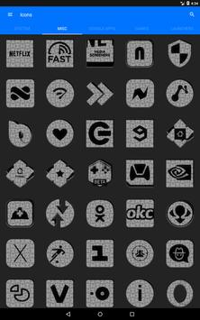 White Puzzle Icon Pack screenshot 14