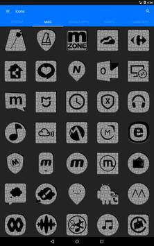 White Puzzle Icon Pack screenshot 12