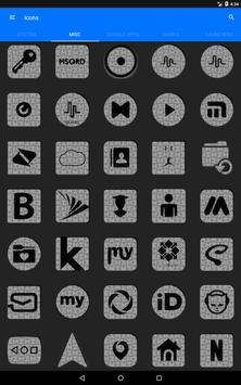 White Puzzle Icon Pack screenshot 13