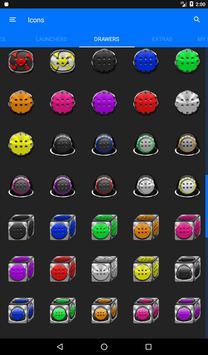 Yellow Glass Orb Icon Pack v4.0 Free apk screenshot