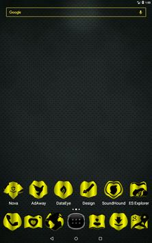 Yellow Fold Icon Pack v3 apk screenshot