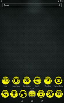 Yellow Icon Pack Style 1 v2.0 apk screenshot