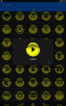Yellow Icon Pack Style 1 v3.0 Free screenshot 11
