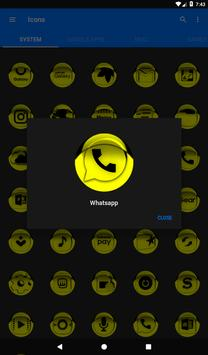 Yellow Icon Pack Style 1 v3.0 Free screenshot 19