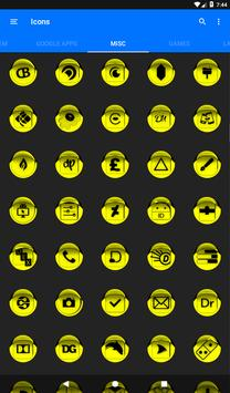 Yellow Icon Pack Style 1 v3.0 Free screenshot 23