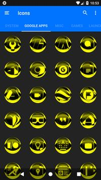 Yellow Icon Pack Style 2 v3.0 Free screenshot 5