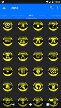 Yellow Icon Pack Style 2 v3.0 Free screenshot 6