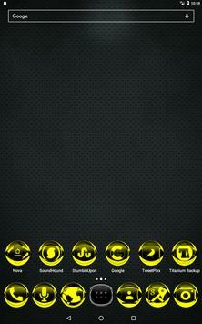 Yellow Icon Pack Style 2 apk screenshot