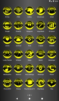 Yellow Icon Pack Style 2 v3.0 Free screenshot 18