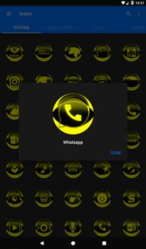 Yellow Icon Pack Style 2 v3.0 Free screenshot 19