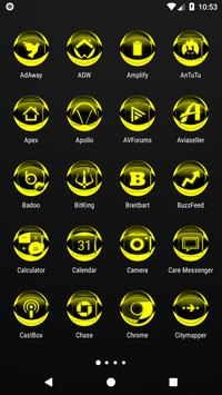 Yellow Icon Pack Style 2 v3.0 Free screenshot 1