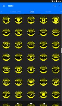 Yellow Icon Pack Style 2 v3.0 Free screenshot 23