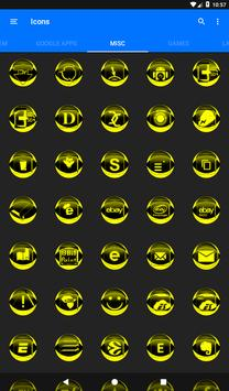 Yellow Icon Pack Style 2 v3.0 Free screenshot 20