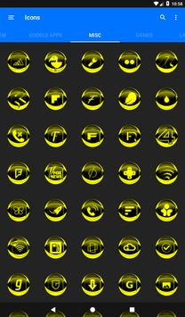 Yellow Icon Pack Style 2 v3.0 Free screenshot 21