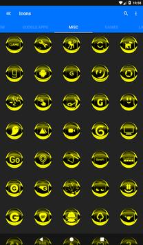 Yellow Icon Pack Style 2 v3.0 Free screenshot 22