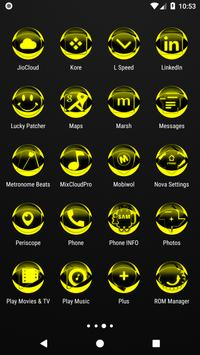 Yellow Icon Pack Style 2 v3.0 Free screenshot 3