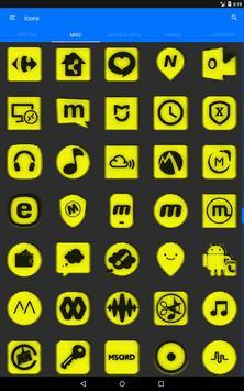 Yellow Noise Icon Pack screenshot 14
