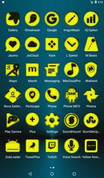 Yellow Noise Icon Pack screenshot 18