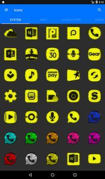 Yellow Noise Icon Pack screenshot 19