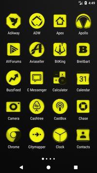 Yellow Noise Icon Pack screenshot 1