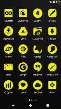 Yellow Noise Icon Pack screenshot 2