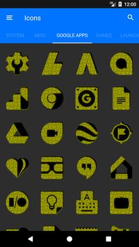 Yellow Puzzle Icon Pack screenshot 6