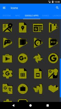Yellow Puzzle Icon Pack screenshot 7