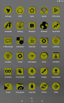Yellow Puzzle Icon Pack screenshot 9