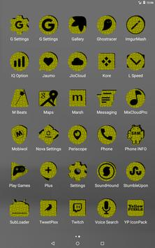 Yellow Puzzle Icon Pack screenshot 10
