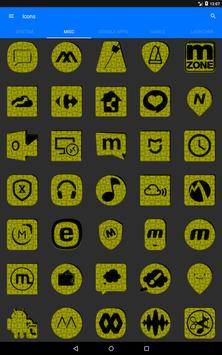 Yellow Puzzle Icon Pack screenshot 14