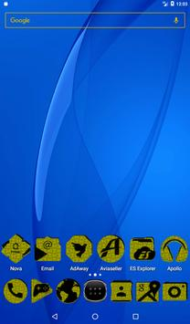 Yellow Puzzle Icon Pack screenshot 16