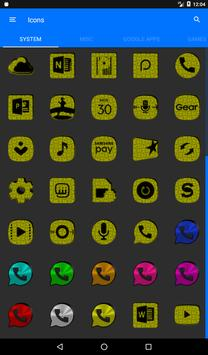 Yellow Puzzle Icon Pack screenshot 19