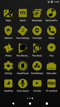 Yellow Puzzle Icon Pack screenshot 3