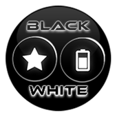 Black and White Icon Pack v4.0 Free icon