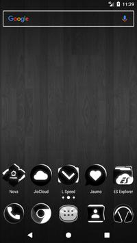 Black and White Icon Pack v4.0 Free poster