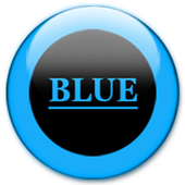 Blue Glass Orb Icon Pack v2.2 icon