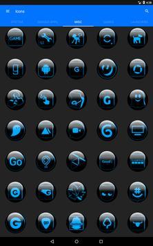 Blue Glass Orb Icon Pack v2.2 screenshot 13