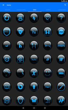 Blue Glass Orb Icon Pack v2.2 screenshot 14