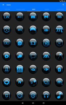 Blue Glass Orb Icon Pack v2.2 screenshot 15