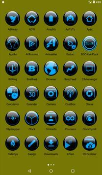 Blue Glass Orb Icon Pack v2.2 screenshot 17