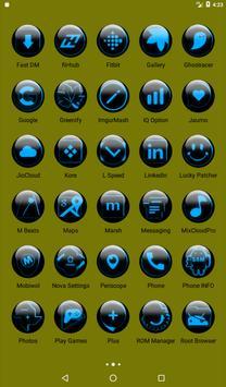 Blue Glass Orb Icon Pack v2.2 screenshot 18