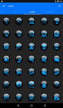 Blue Glass Orb Icon Pack v2.2 screenshot 19