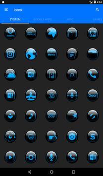 Blue Glass Orb Icon Pack v2.2 screenshot 20