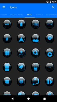 Blue Glass Orb Icon Pack v2.2 screenshot 7