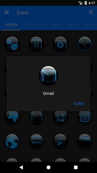 Blue Glass Orb Icon Pack v2.2 screenshot 4