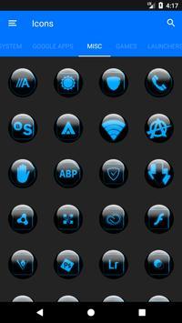 Blue Glass Orb Icon Pack v2.2 screenshot 6