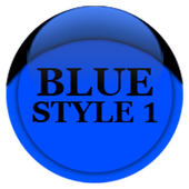 Blue Icon Pack Style 1 icon