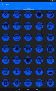 Blue Icon Pack Style 1 screenshot 14