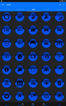 Blue Icon Pack Style 1 v2.0 screenshot 15